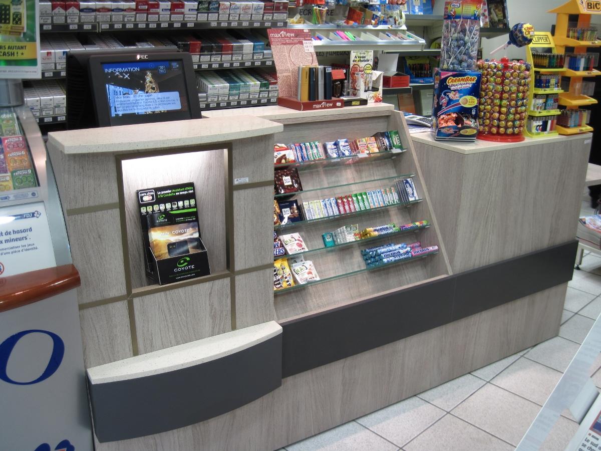 Pcb Agencement Tabac Presse Librairie Meuble Meubles Mobilier